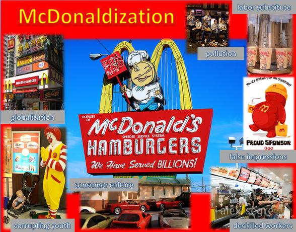McDonalization
