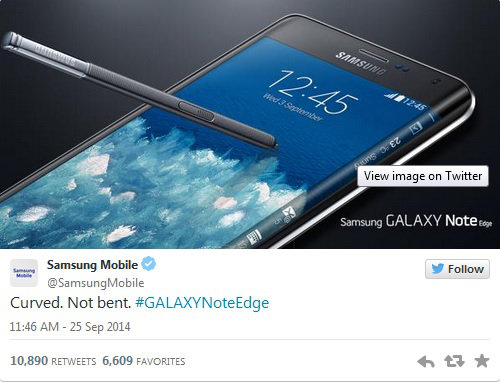 Trolling Samsung Bendgate